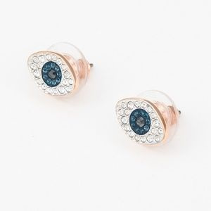 Swarovski Symbolic Stud Pierced Earrings, Blue